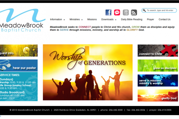How a Website Can Help Your Congregation Grow