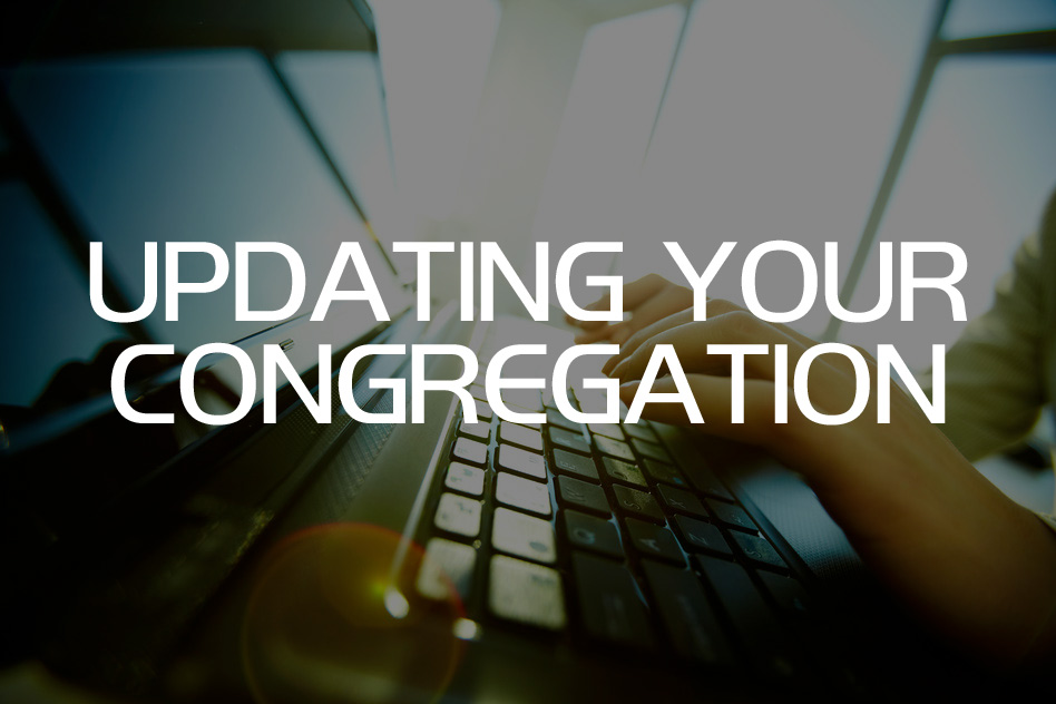 Updating Your Congregation
